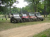 ATV at Beaver Trail Campground