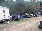 Jeeps at Beaver Trail Campground